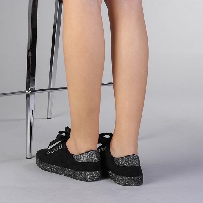 Pantofi sport dama Adisa negri 3