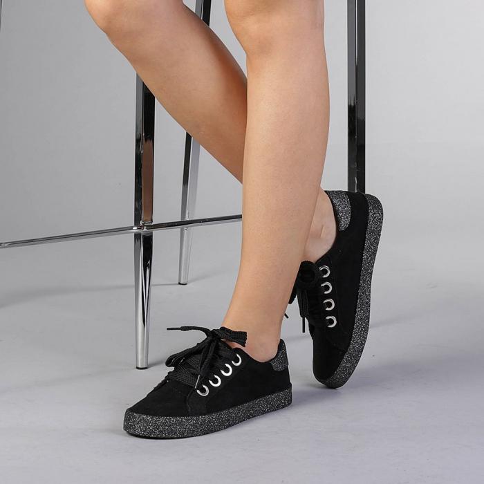 Pantofi sport dama Adisa negri 2