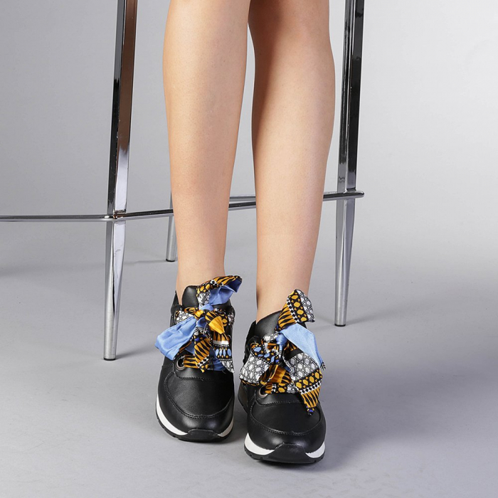 Pantofi sport dama Alette negri 1