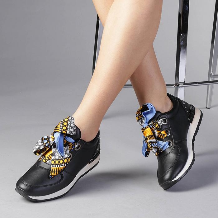 Pantofi sport dama Alette negri 0