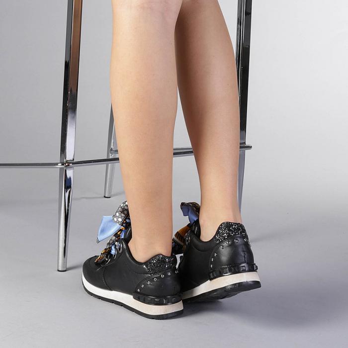 Pantofi sport dama Alette negri 3