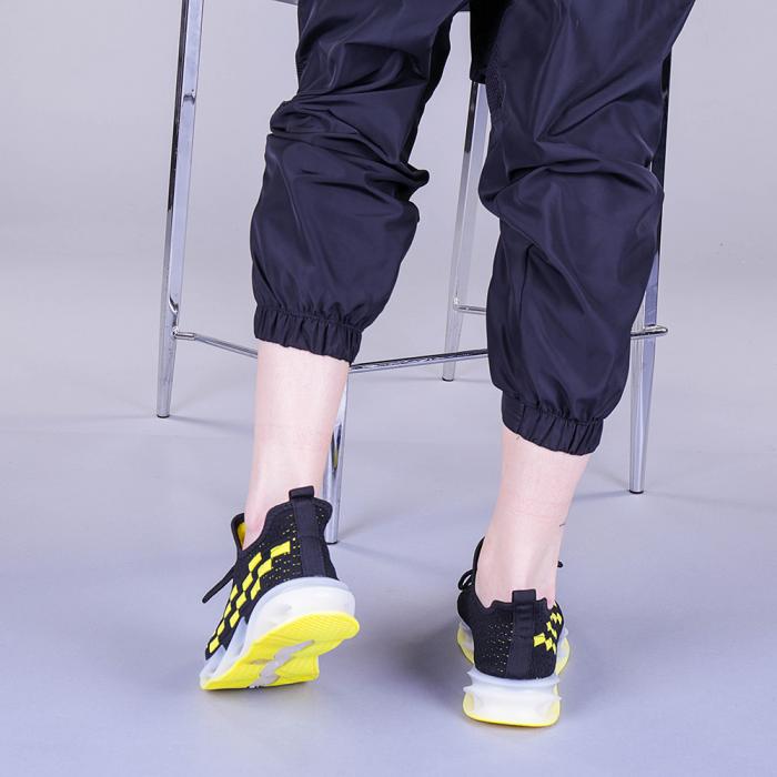Pantofi sport dama Alexandra negri 3