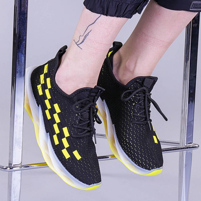 Pantofi sport dama Alexandra negri 0