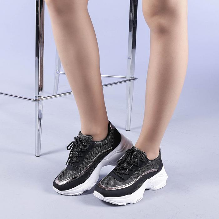 Pantofi sport dama Alima negri 2