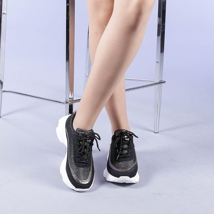 Pantofi sport dama Alima negri 1
