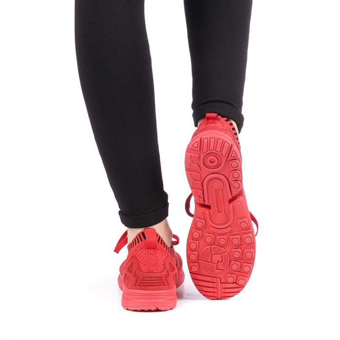 Pantofi sport dama Almanaka rosii 3