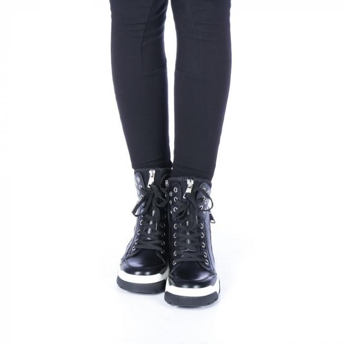 Pantofi sport dama Amanda negri 4