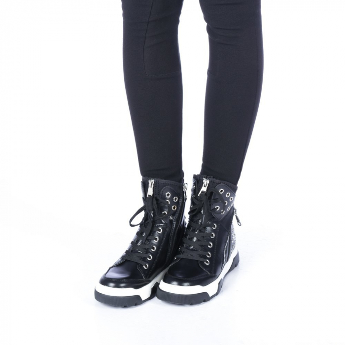Pantofi sport dama Amanda negri 2