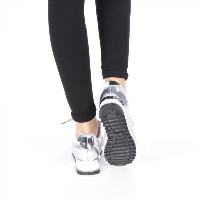 Pantofi sport dama Andree argintii 3