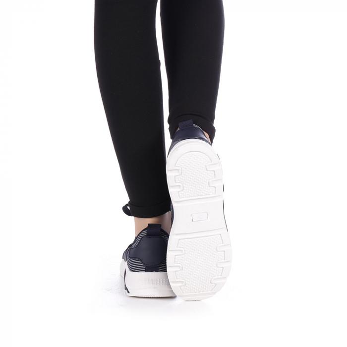 Pantofi sport dama Anyda albastri 3