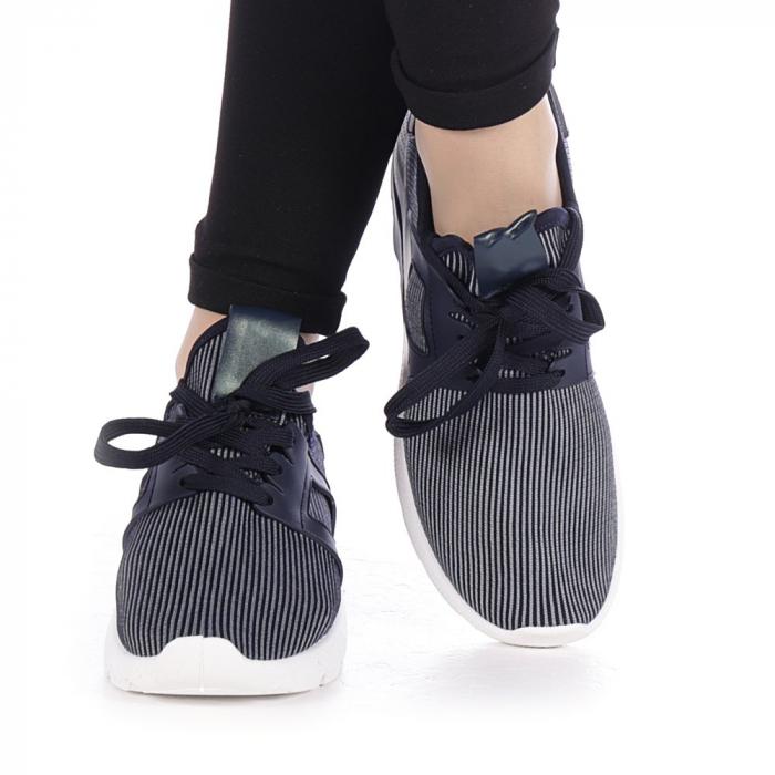 Pantofi sport dama Anyda albastri 1