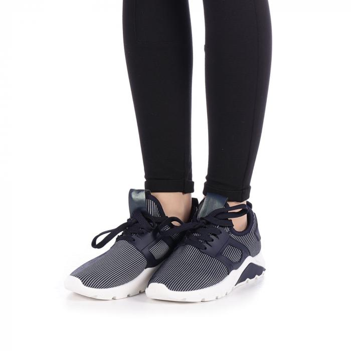 Pantofi sport dama Anyda albastri 2