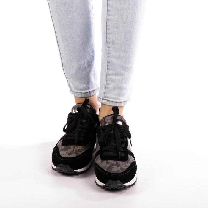 Pantofi sport dama Athena negri 4