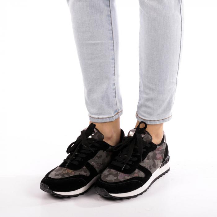 Pantofi sport dama Athena negri 2