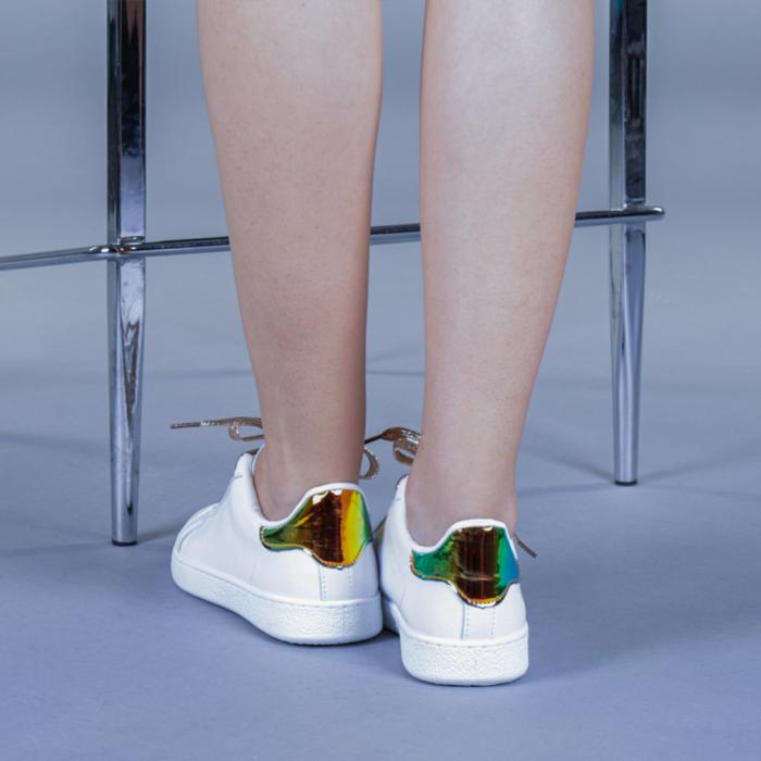 Pantofi sport dama Augustina aurii 3