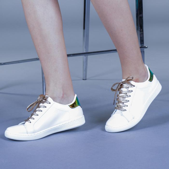 Pantofi sport dama Augustina aurii 2