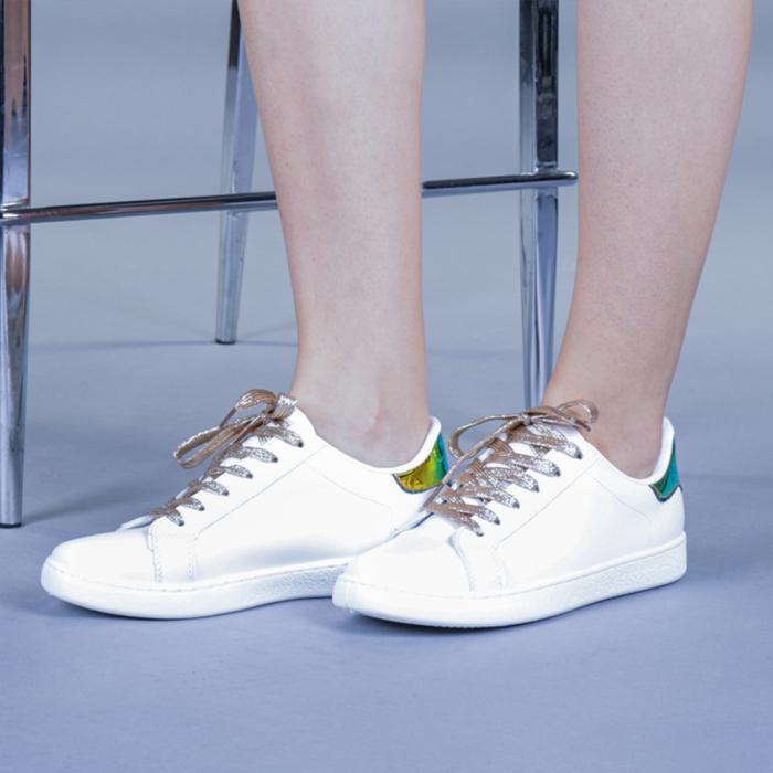 Pantofi sport dama Augustina aurii 0