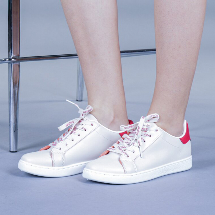Pantofi sport dama Augustina rosii 0