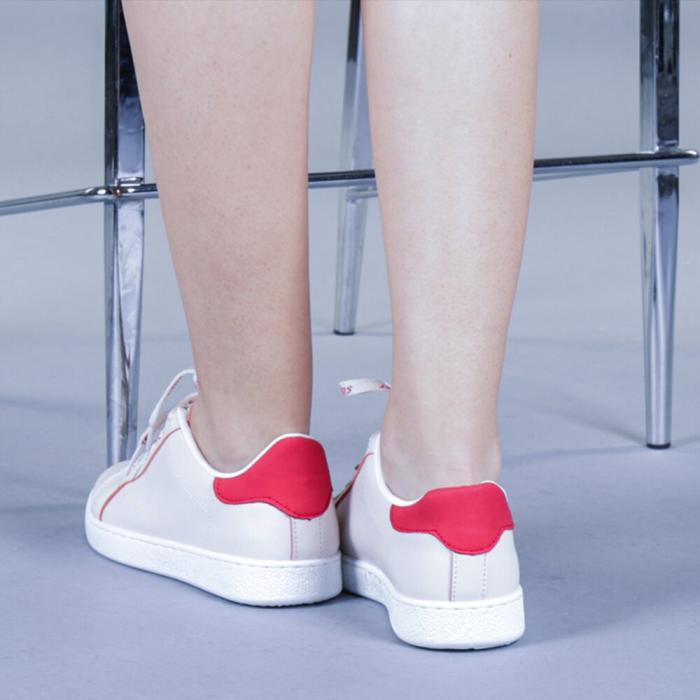 Pantofi sport dama Augustina rosii 2