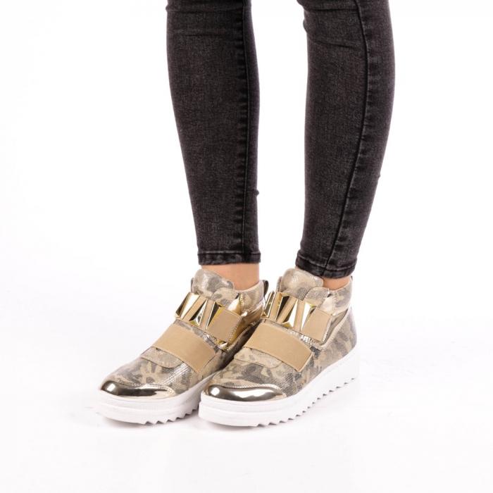 Pantofi sport dama  Aura aurii 1