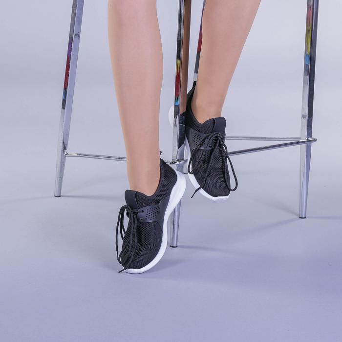 Pantofi sport dama Callia negri 2