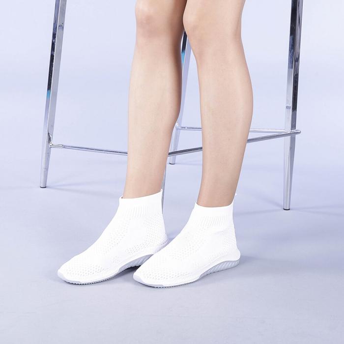Pantofi sport dama Catalina albi 1