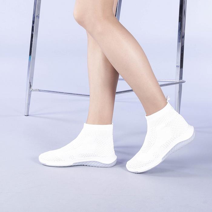 Pantofi sport dama Catalina albi 2