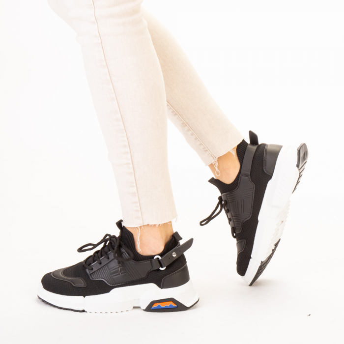 Pantofi sport dama Denice negri 2