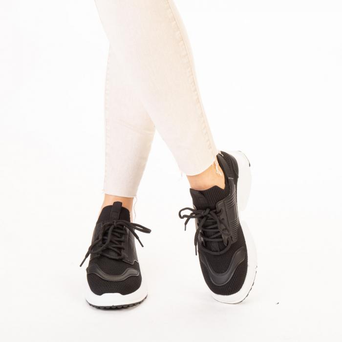 Pantofi sport dama Denice negri 1