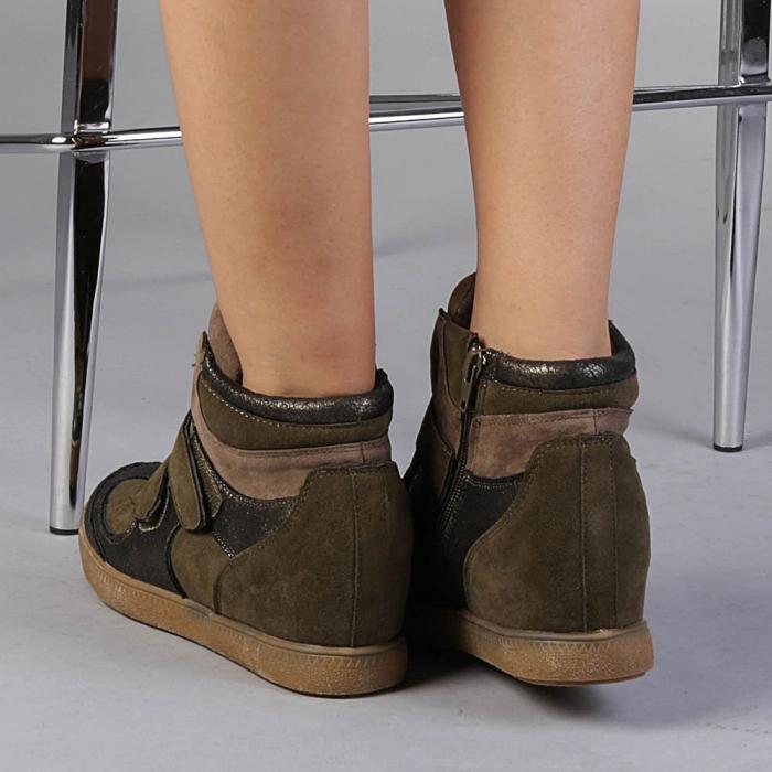 Pantofi sport dama  Denise verzi 3