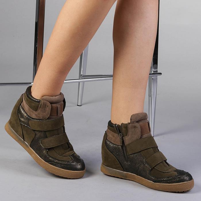 Pantofi sport dama  Denise verzi 2