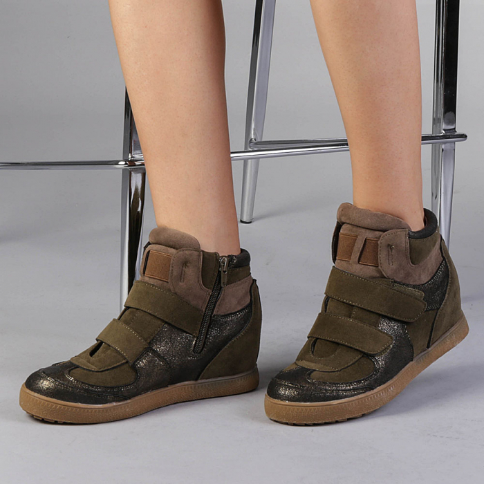 Pantofi sport dama  Denise verzi 0