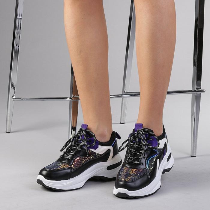 Pantofi sport dama Eduarda negri 2
