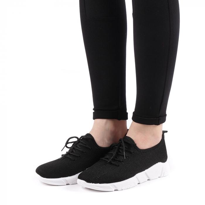 Pantofi sport dama Eunice negri 1