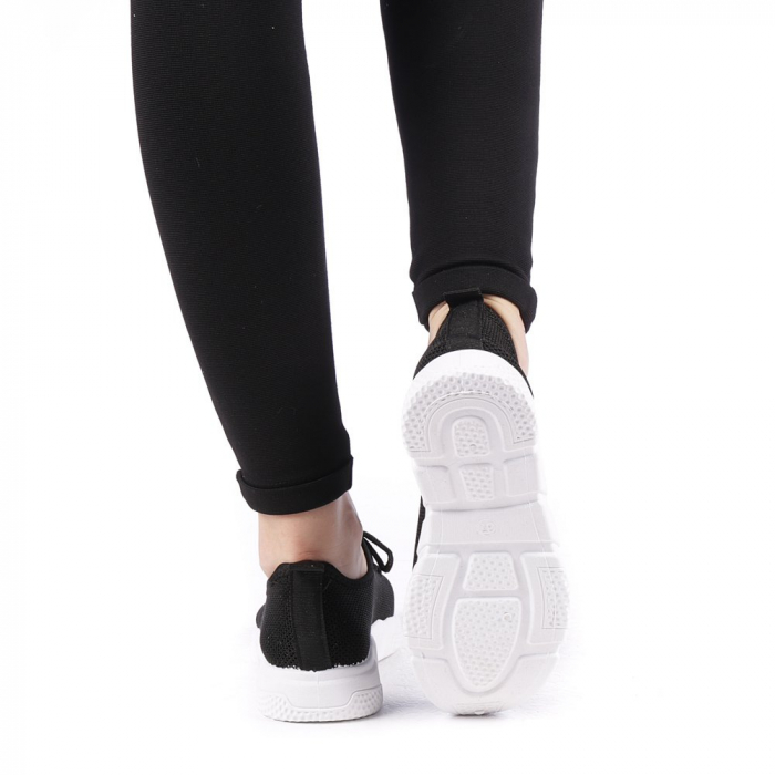 Pantofi sport dama Eunice negri 2