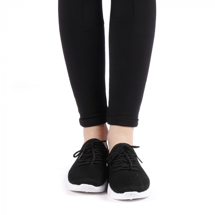 Pantofi sport dama Eunice negri 3