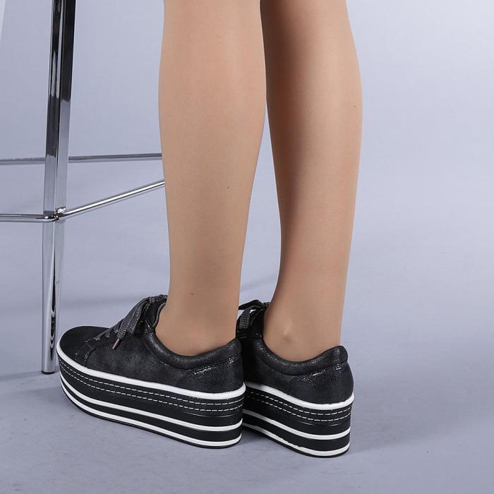 Pantofi sport dama Evolette gri 3
