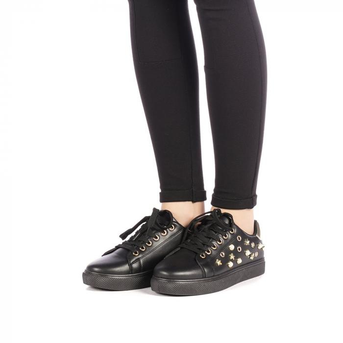 Pantofi sport dama Farimo negri 2