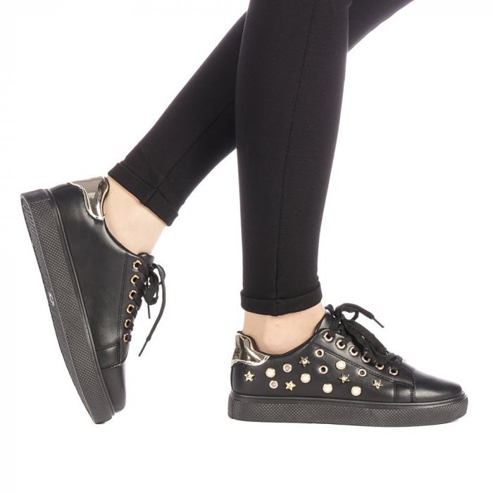 Pantofi sport dama Farimo negri 0