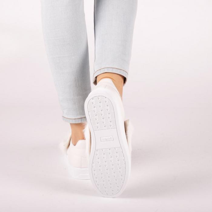 Pantofi sport dama Fedora albi 2