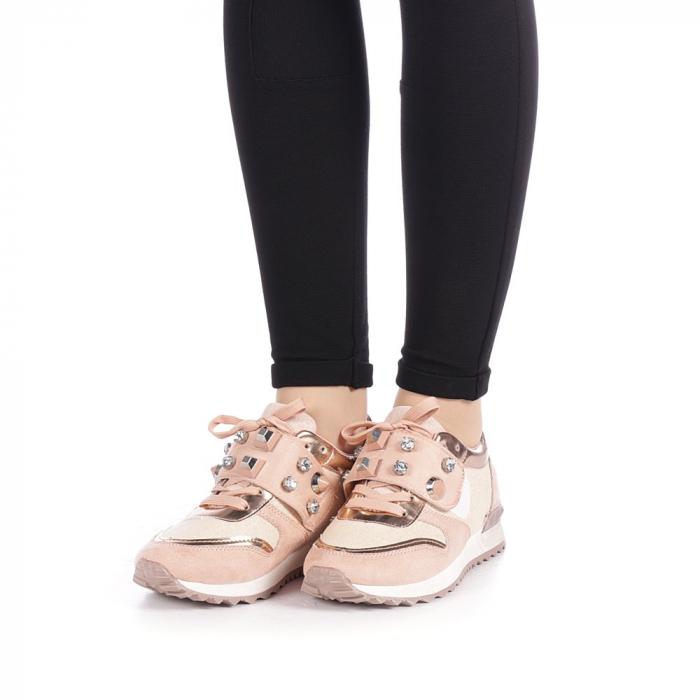 Pantofi sport dama Femos roz 2