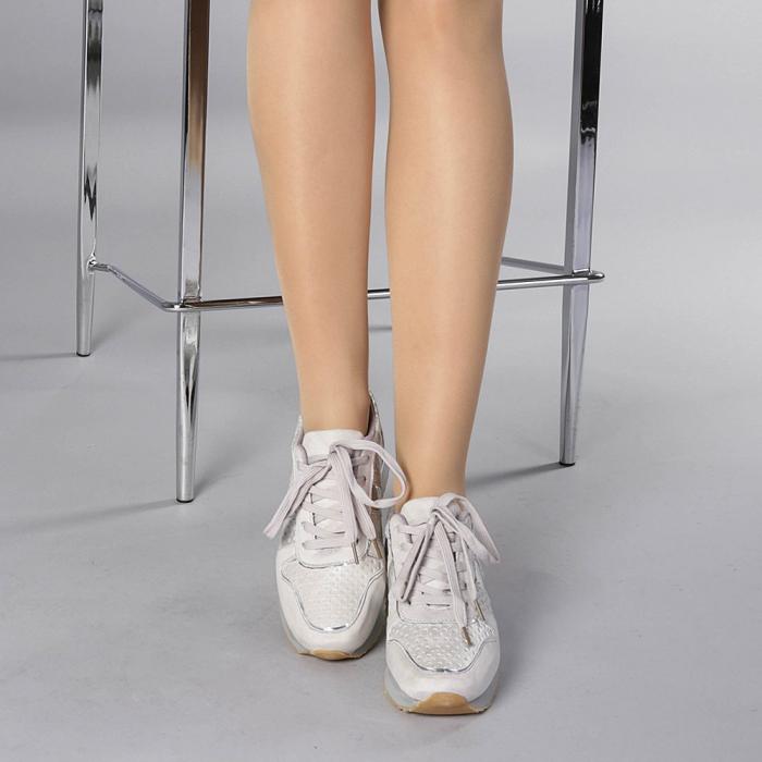 Pantofi sport dama Fiona gri 1