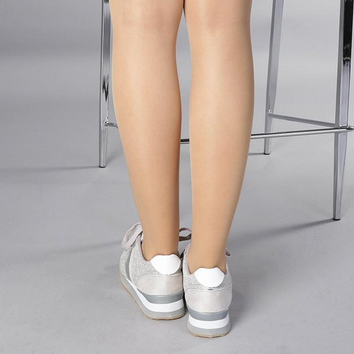 Pantofi sport dama Fiona gri 3