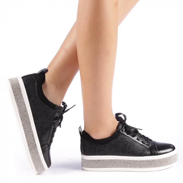 Pantofi sport dama Giulietta negri 0