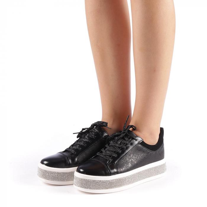 Pantofi sport dama Giulietta negri 1
