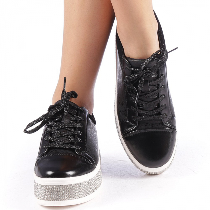 Pantofi sport dama Giulietta negri 4