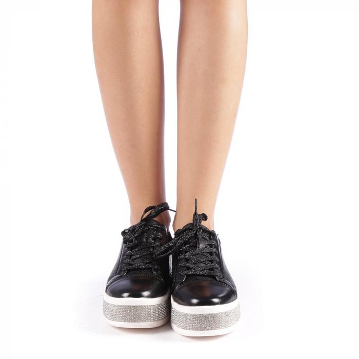Pantofi sport dama Giulietta negri 3