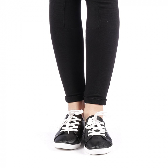 Pantofi sport dama Histrol negri 4