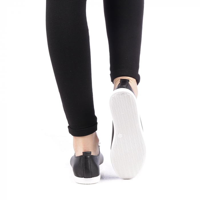 Pantofi sport dama Histrol negri 3