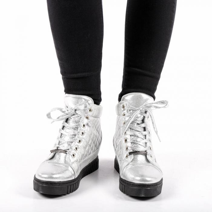 Pantofi sport dama  Jolly argintii 3